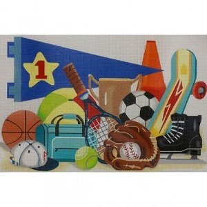 AP3352 LARGE SPORTS BALLS by Alice Peterson