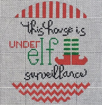 VNGSVC001 ELF SURVEILLANCE by Vallerie Needlepoint Gallery
