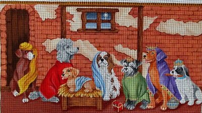 TF3042 CANINE CRECHE by TAPESTRY FAIR pre-order now