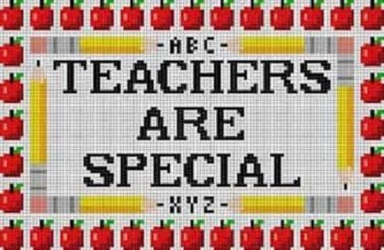 TRLP56- TEACHERS ARE SPECIAL by Treglown Designs