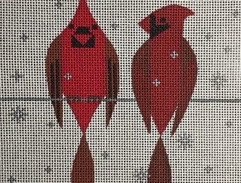 VNGSP027 TWO CARDINALS by Scott Partridge