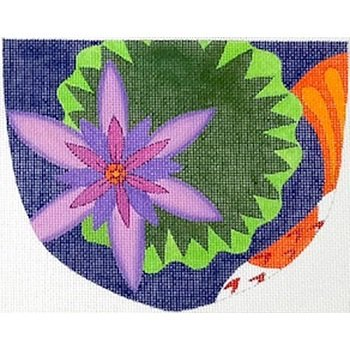 ZE573 LILY PAD POUCH by Karen Hennessey for Zecca