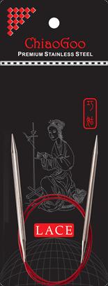 ChiaoGoo Red Lace 16