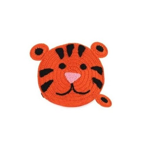 Crocheted Tiger Tape Measure