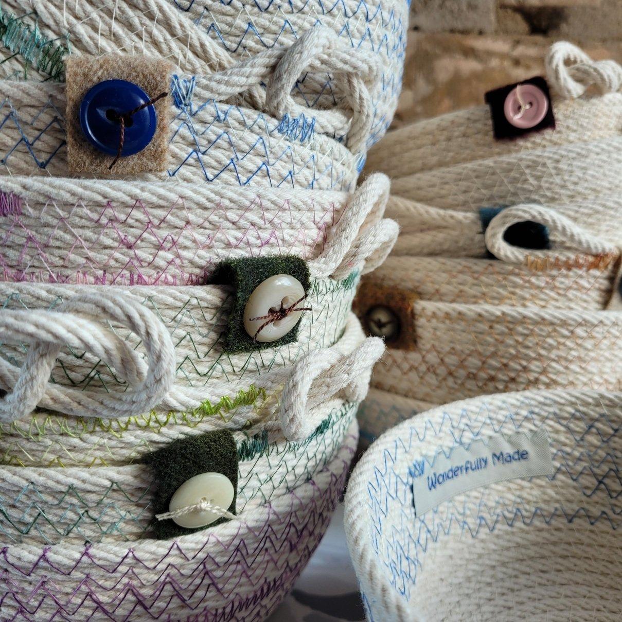 Yarn Bowls by Wonderfully Made