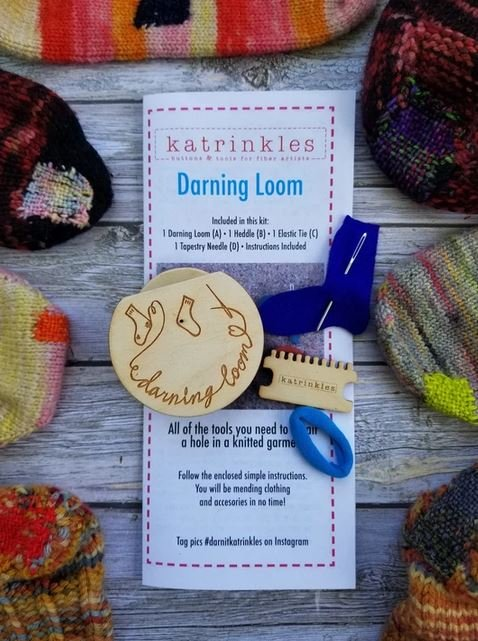 Darning & Mending Loom Kit by Katrinkles
