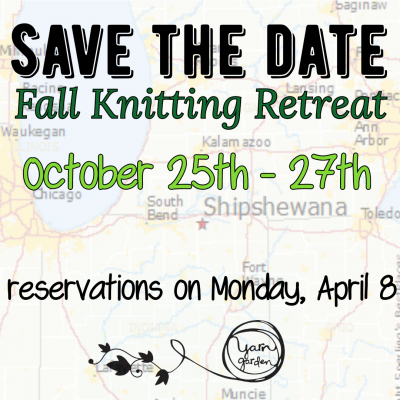 YG Fall Knitting Retreat