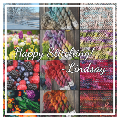 Happy Stitching! Lindsay