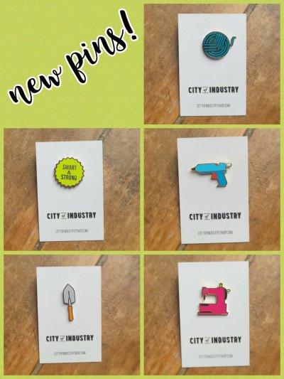 New Enamel Pins