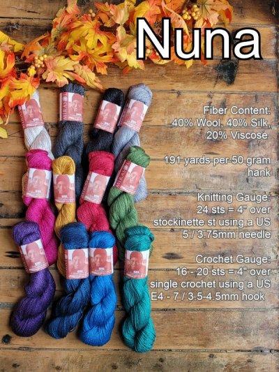 Nuna Yarn details