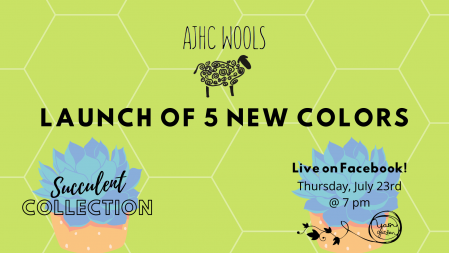 Launch Party with AJHC Wools