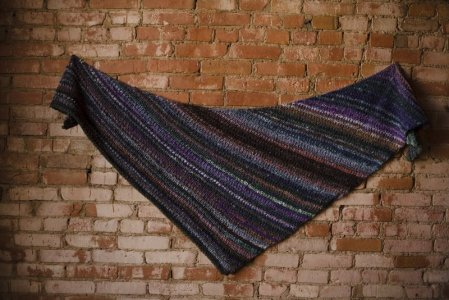 Bachi Ball Shawl Wingspan