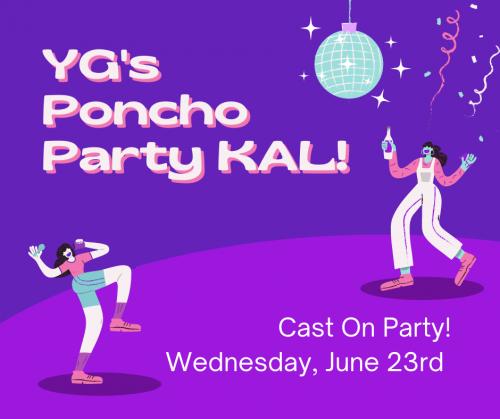 YG's Poncho Party KAL