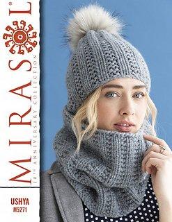 Cristina Hat & Cowl for Mirasol Ushya