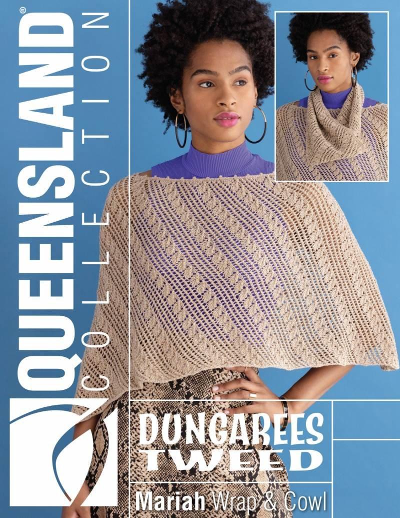 Dungarees Tweed - Mariah Wrap & Cowl