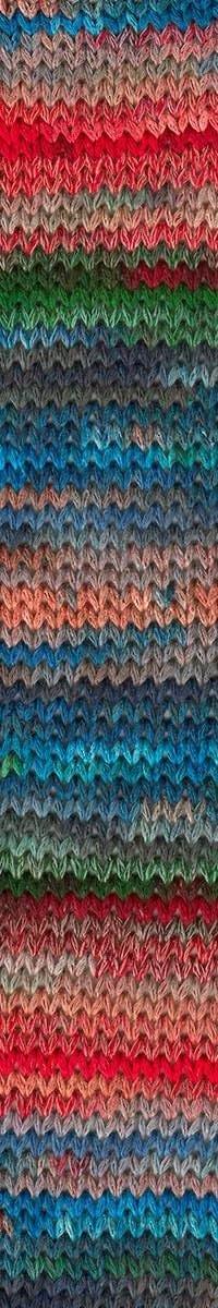 Perris Crochet Shawl Kit in Giardino