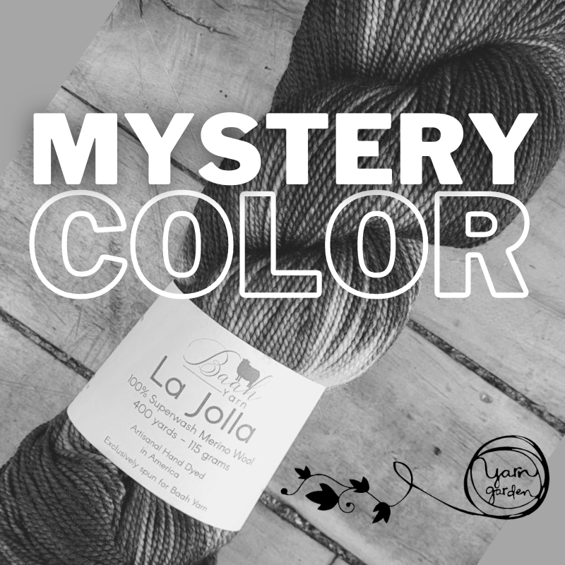 La Jolla Color of the Month  (PREORDER) by Baah Yarns