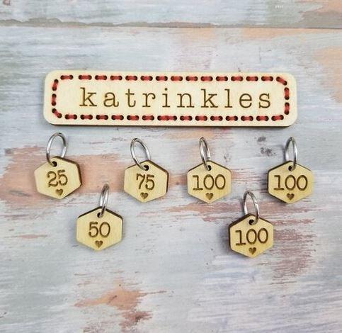 Stitch Marker Set by Katrinkles