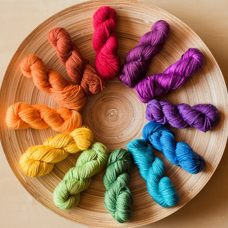 Prismatic Mini-Mini Yarn Set