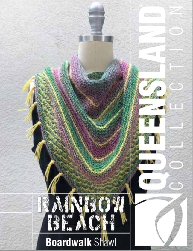 Boardwalk Shawl for Queensland Collection Rainbow Beach