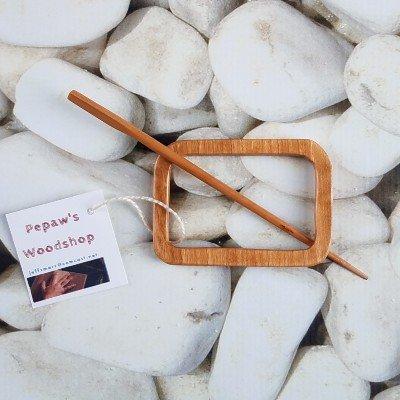Pepaw's Woodshop Geometric Shawl Pins