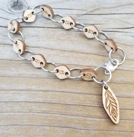 Row Counter Bracelet by Katrinkles