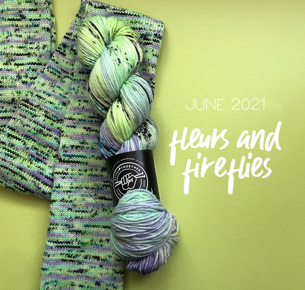 Color of the Month - Targhee Sock by Stitch Together