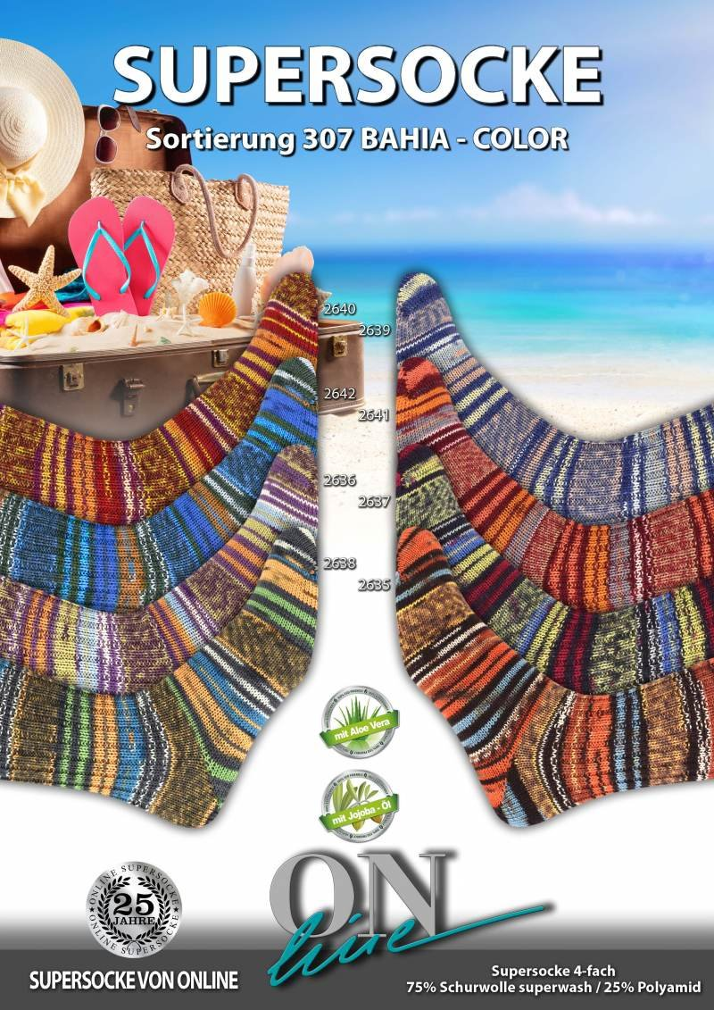Supersocke Bahia Color by Online