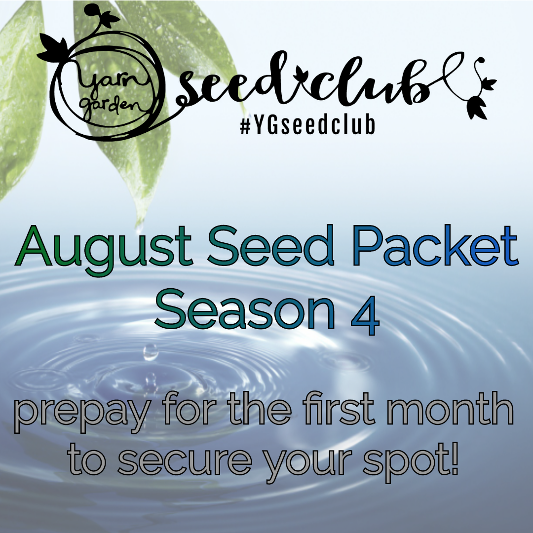 August Seed Packet, Season 4