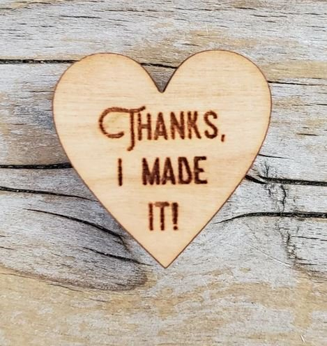 Thanks I made It Pin by Katrinkles