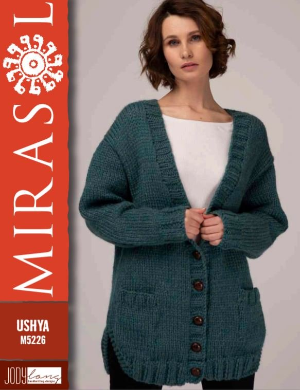 Alma Cardigan for Mirasol Ushya