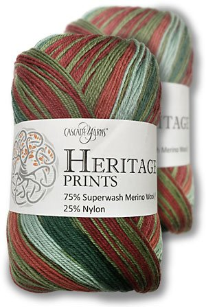 Heritage Prints by Cascade Yarns