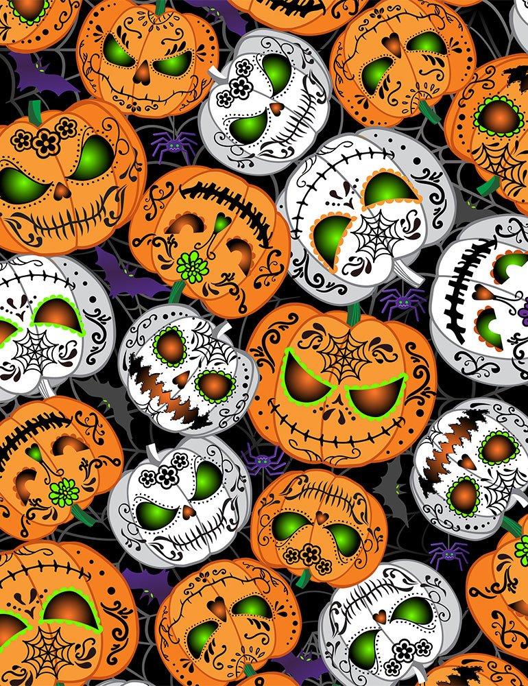 Timeless Treasures - Glow in the Dark pumpkins