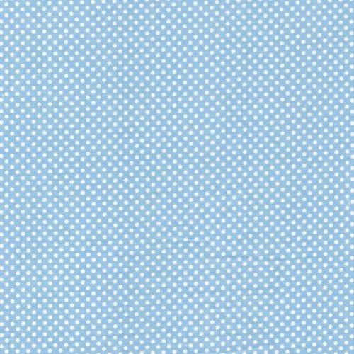 Fabri-Quilt - polka dots-blue