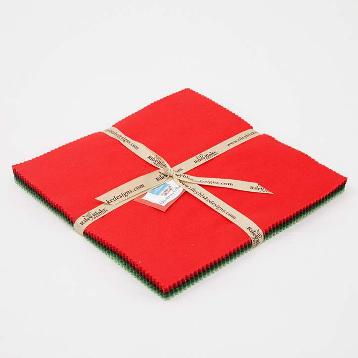 Riley Blake - Cottons 10 Inch Stackers - Christmas
