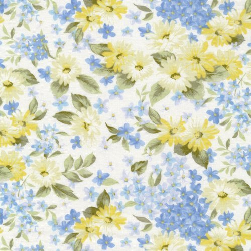 Fabri-Quilt -Bristol Daisy Floral