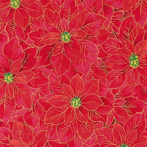 Fabri-Quilt - Holiday Editions Poinsettia