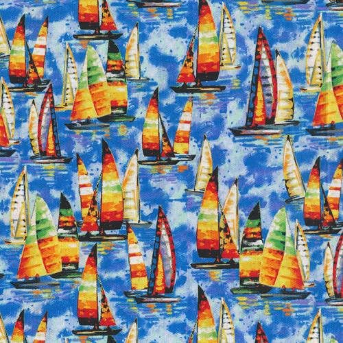Fabri-Quilt - Paintbrush studios - Portofino Sailboat