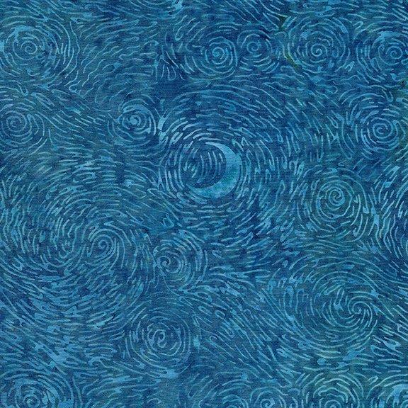 Island Batik - Starry Night - Harbor Blue