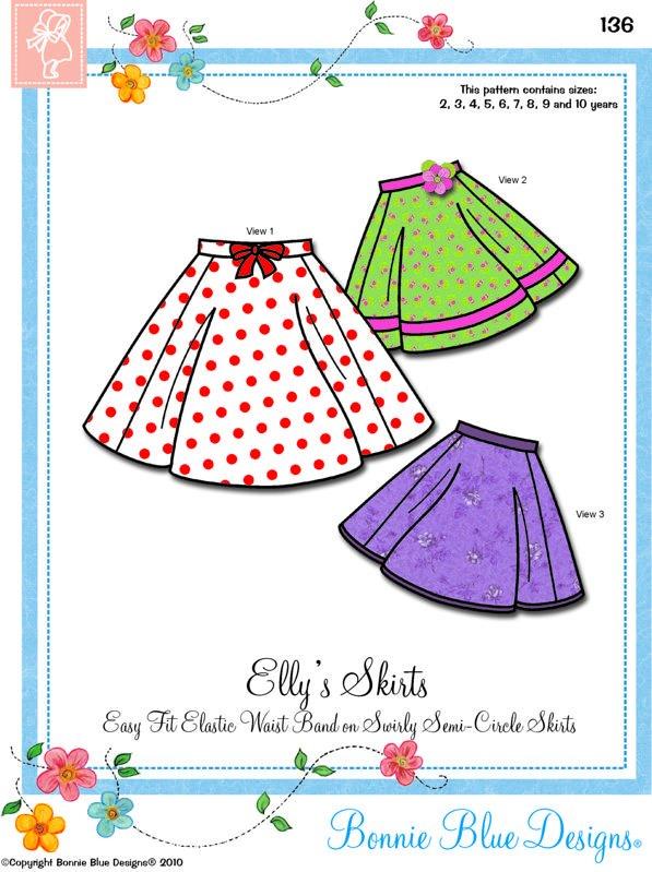 Bonnie Blue - Elly's Skirts