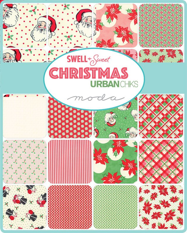 Moda - Swell & Sweet Christmas Jelly Roll