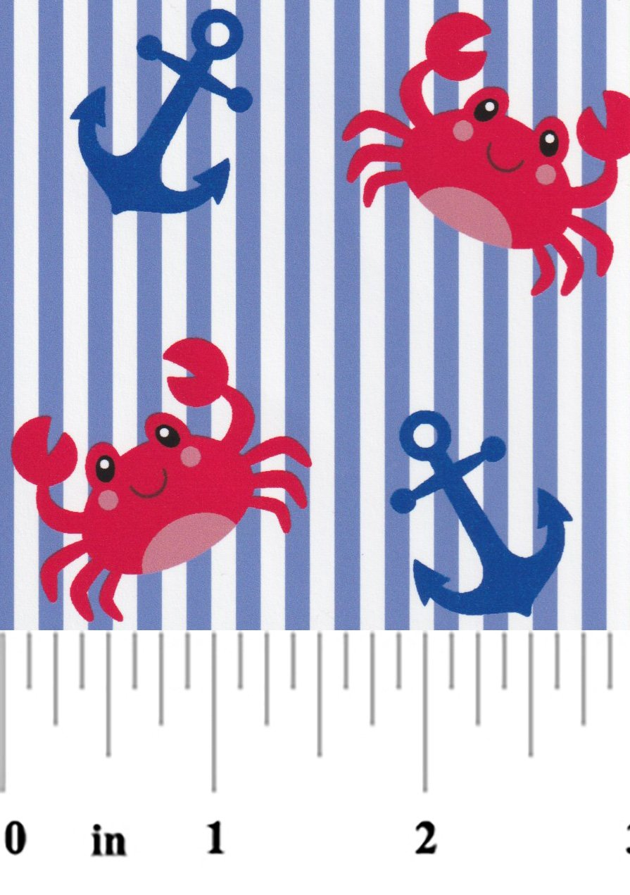 Fabric Finders - Anchors and Crabs