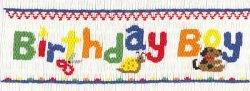 Crosseyed Cricket Birthday Boy