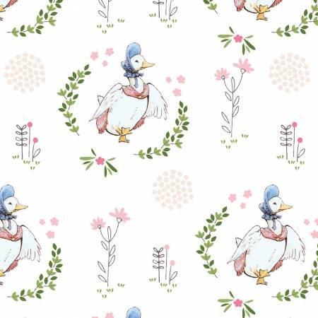 Craft Cotton - Jemima Puddleduck -  by Beatrix Potter