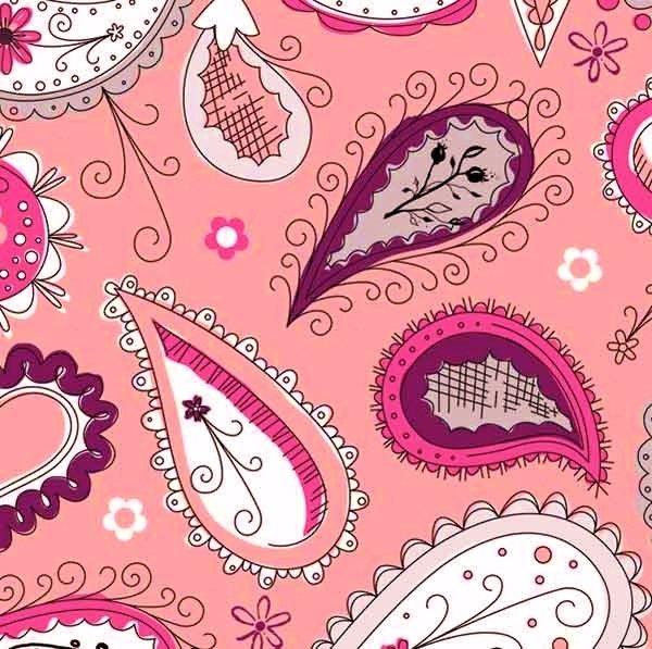 ADORNit - Princess Collection - Pretty Paisley Pink