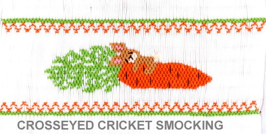 Crosseyed Cricket Carrot Hugger