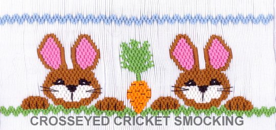 Crosseyed Cricket Bunnies' Prize Possession