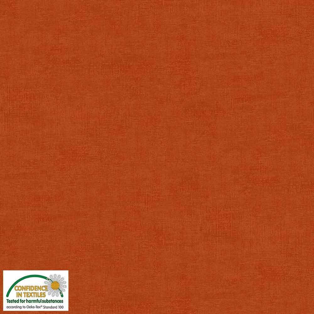 Stof - Melange Basic - Dark Orange