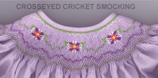 Crosseyed Cricket Flower Girl