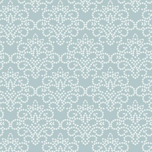 Benartex - Grandeur Rose - dotted damask